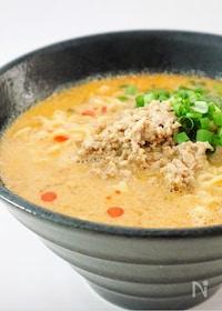 『インスタント麺で<簡単>コクうま♡坦々麺』