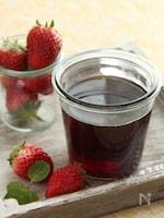 苺ミント酵素シロップ