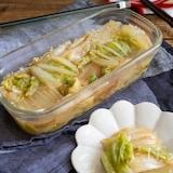 <白菜消費・白菜だけ>野菜がとれる簡単ひと品♪白菜の焼き浸し