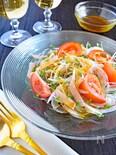 新たまねぎとトマトのサラダ