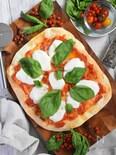 【サクサク♪】クリスピー生地のマルゲリータピザ