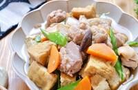 染みうま!ごはんに合う筑前煮風♡『鶏と厚揚げの煮もの』