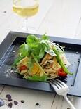 グリル夏野菜の冷製パスタ