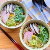 疲れた胃腸に*ほっこり煮麺(にゅうめん)