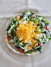 春野菜のミモザサラダ