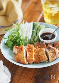 『完璧な皮パリッ!『鶏肉のパリパリ北京ダック風』』
