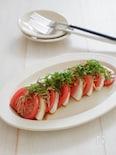 トマトと山芋で・和風カプレーゼ