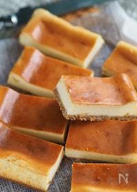 『焼くまで5分『黄金比ベイクドチーズケーキ』』