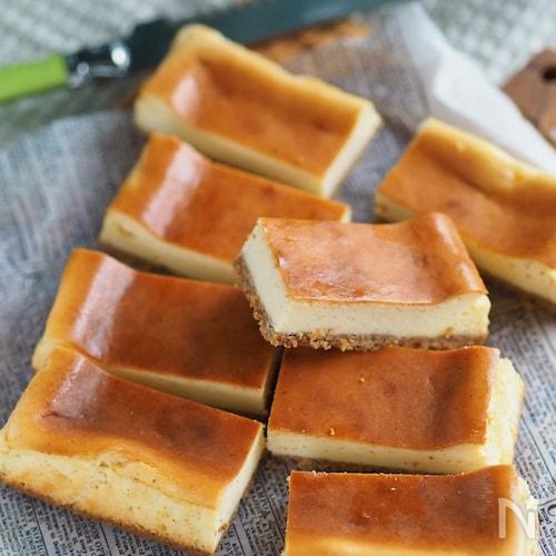 焼くまで5分『黄金比ベイクドチーズケーキ』