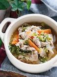 とろとろ白菜のうま塩スープ【#冷蔵庫のお掃除#おかずスープ】