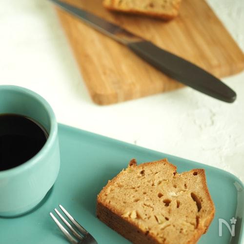 パインと黒糖のパウンドケーキ