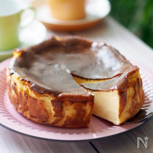 ラヴィーニャのバスク風チーズケーキ