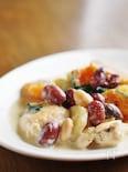 秋野菜とチキンのクリーム煮