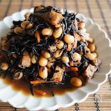 定番の味『ひじきと大豆の煮物』