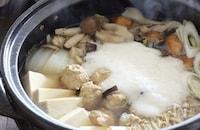 とろろをたっぷり絡めて♪胃腸を休めたい日の夕飯はこれ!「ふわとろ鍋」のレシピ