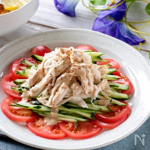 タレが美味い!棒々鶏サラダ