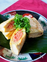 【ヘルシー簡単】豆腐の明太はさみピカタ#お弁当#作り置き