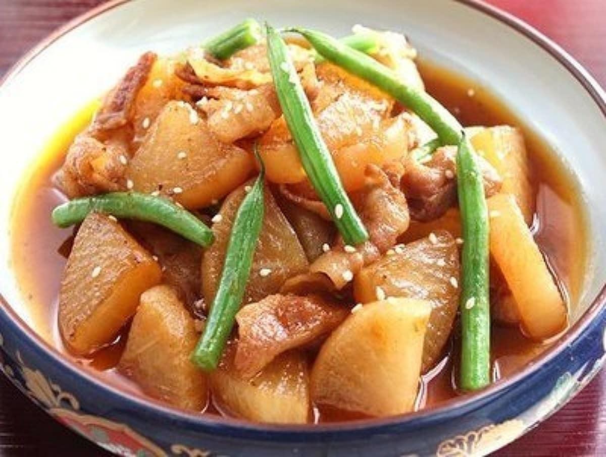 中華な豚バラ大根 by 長岡美津恵akai,salad