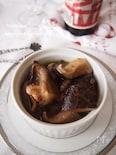 干し椎茸の旨味ガーリックオイル煮