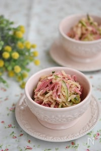 切り干し大根の中華風サラダ【作りおき】