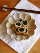 わかめの肉巻きで生姜焼き