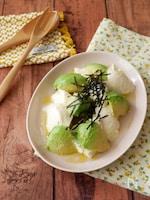 「うま味ドレッシング」アボカドと豆腐の簡単フレンチサラダ