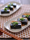 磯辺豆腐ステーキ