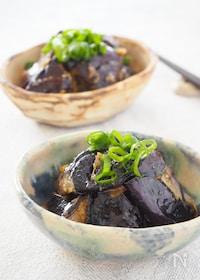 『【簡単副菜】ご飯のお供に!トロなすの味噌炒め』