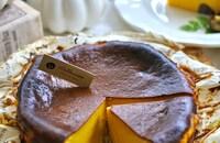 カボチャバスクチーズケーキ