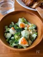 『ブロッコリーとアボカドと卵のデリ風サラダ』#簡単