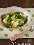 くずし豆腐とブロッコリーのとろみあん