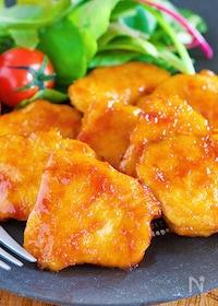 『驚きの柔らかさ♪ご飯がすすむ♪『鶏むね肉のマヨしょうが焼き』』