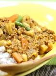 大豆とれんこんのキーマカレー