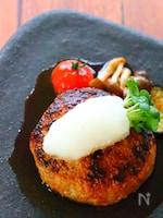 さっぱり♡和風おろしポン酢ハンバーグの作り方レシピ