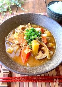 『濃厚味噌ラーメン風♡〝野菜ごろごろ豚汁〟時短ずぼらレシピ』