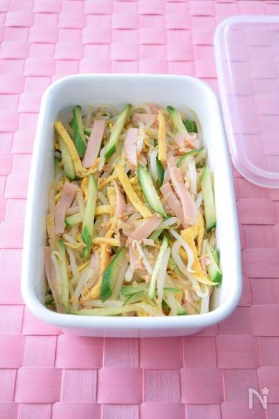 きゅうりハムたまごの中華サラダ 作り置きレシピ