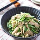 市販に負けない自慢の味♡手作りごまドレdeささみと水菜サラダ