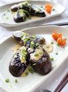 醤油マヨソースで食べる!茄子の洋風ステーキ