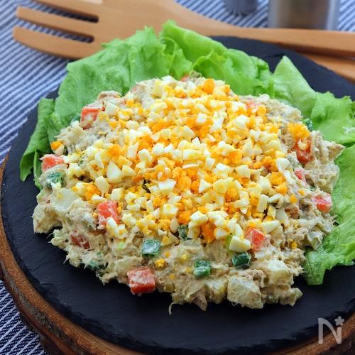ロシア風ポテトサラダ(オリヴィエサラダ)