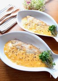 『魚嫌いのお子様にも超お勧め激旨♡白身魚のとろとろ卵あんかけ』