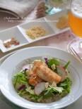 カジキのサラダご飯プレート