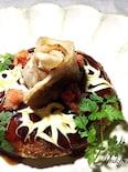 グルテンフリーの豚薔薇お好み焼き