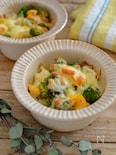 簡単!ブロッコリーとゆで卵のチーズ焼き。お弁当のおかずにも。