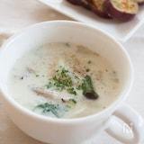 『かぶときのこのミルクスープ』#簡単#朝ごはん
