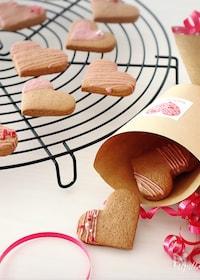『<バレンタイン>友チョコに♡簡単♡チョコクッキー』