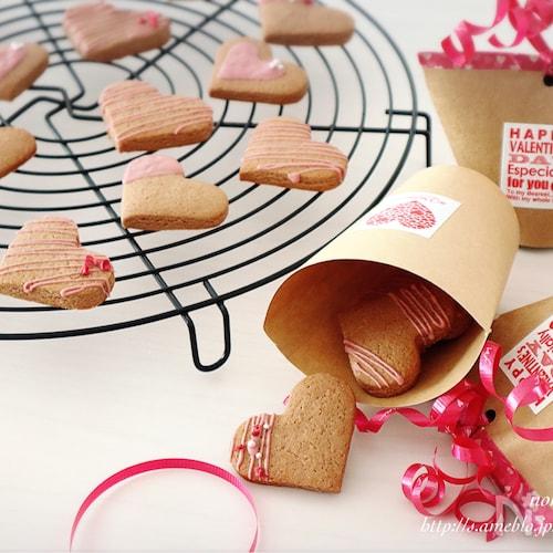 <バレンタイン>友チョコに♡簡単♡チョコクッキー