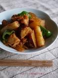 すりおろしりんごで☆さつまいもと鶏の甘辛韓国風