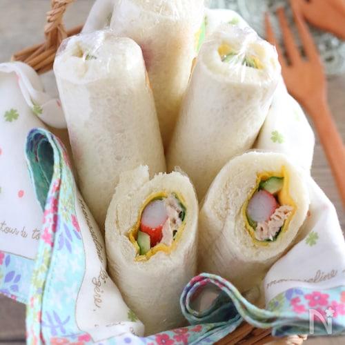 サラダ巻き(サンドイッチ)
