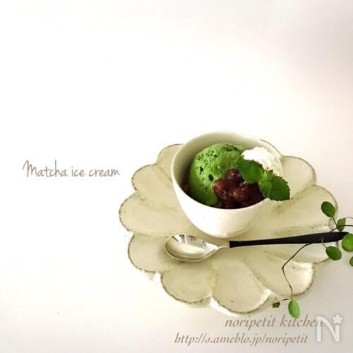 簡単♡ヘルシー<材料3つ>お豆腐抹茶アイス