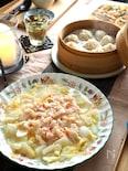 白菜と海鮮の炒め煮